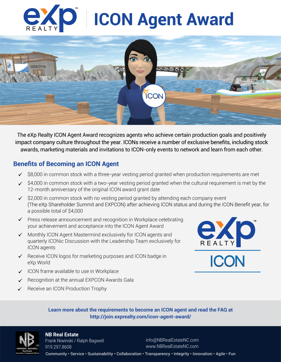 NB Branded Agent Icon Award Flyer